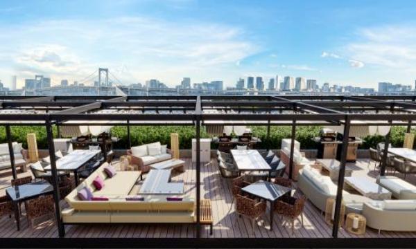 屋上を有効活用し、新たな売上を創出!! 「Luxury」「Casual」「Beach」「Garden」スタイル